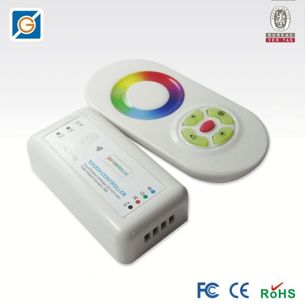 new products on the market 2013 | rf remote light control touch panel for 5050 led strip
