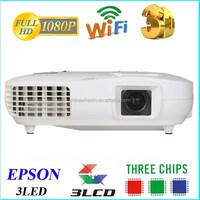 professional supply Ebay china website 3 LED 3 LCD 1920 X 1080 WQXGA 3000 Lumens 1080p full hd projector