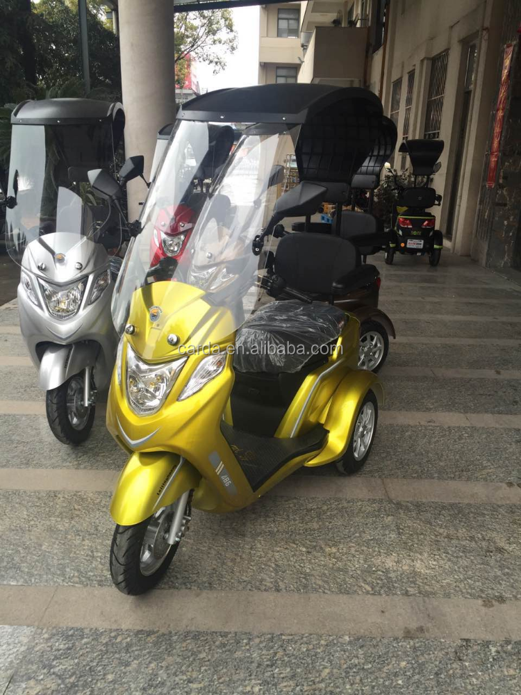 High quality one passenger city electric small tricycle for sale /tricycle for one passenger with roof