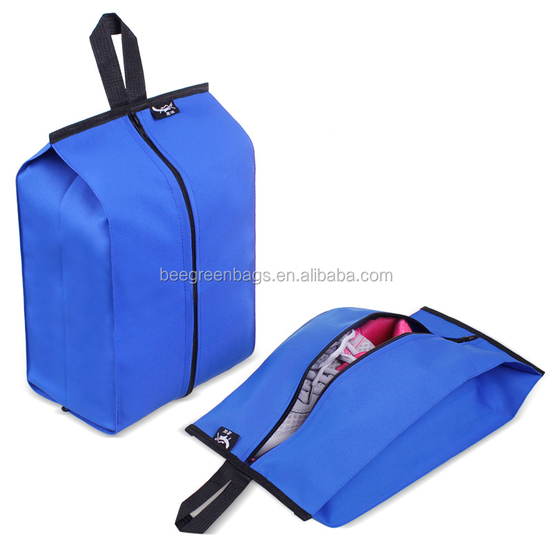 Wholesale 210D polyester custom travel shoe bags