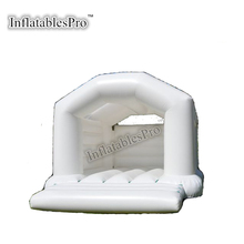 Big white princess moon bounce jumping bouncer for wedding party