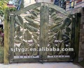 The Modern popular gate design of wrought iron