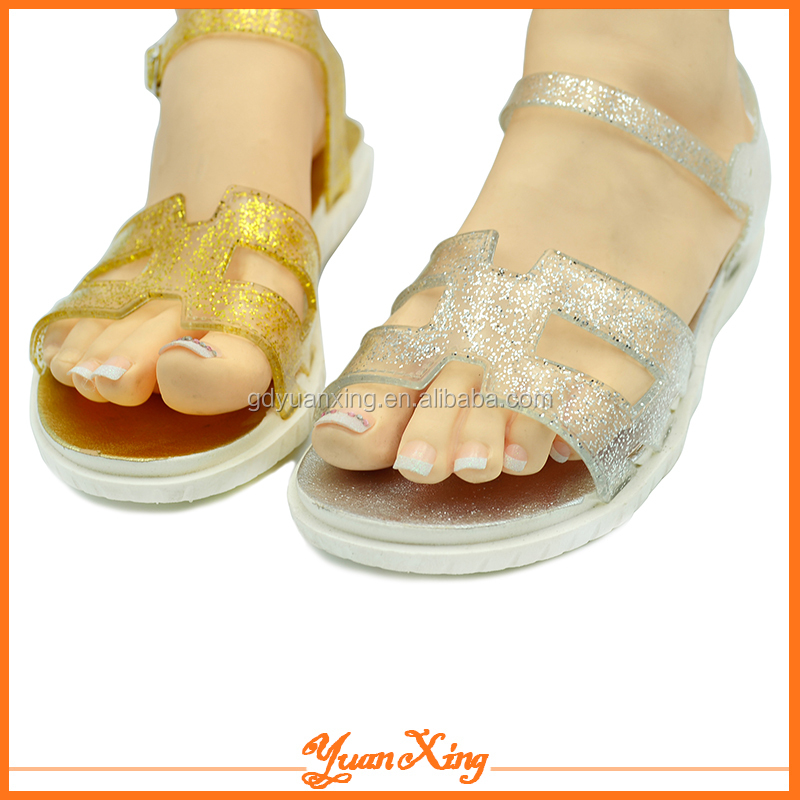 China Low Price Women Sandal Shoes Jelly Lady Sandal