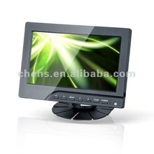 Support Car reversing rear view ,7 inch TFT LCD touch screen monitor