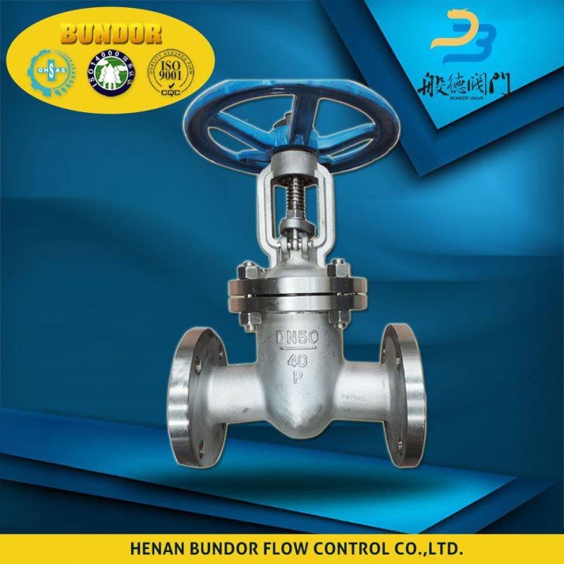 wedge ss304 1000wog asme b 16.10 gate valve