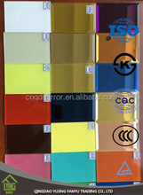 2mm, 3mm, 4mm, 5mm, 6mm double coated Colored Glass Mirror Sheet with CE & ISO certificates