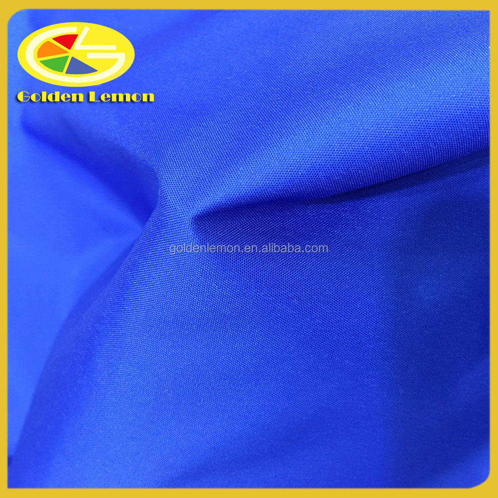 240T Polyester pongee fabric with white pigment coated water repellent for apron and family tent