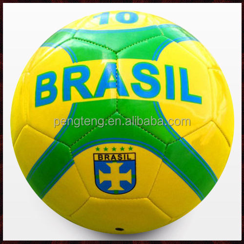 Manufacture cheap prices football 2014,thermo bonding soccer ball