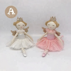 ICT / BSCI Approved Princess Angel Plush Doll with Wings for Gift Friends