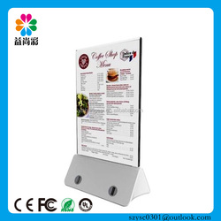 Restaurant/coffee shop/table menu 13000mah rohs power bank for smart phone in China