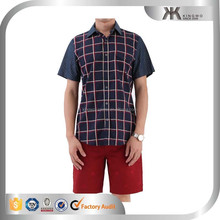 Kingwo wholesale customize checked and polka dot men's casual shirts