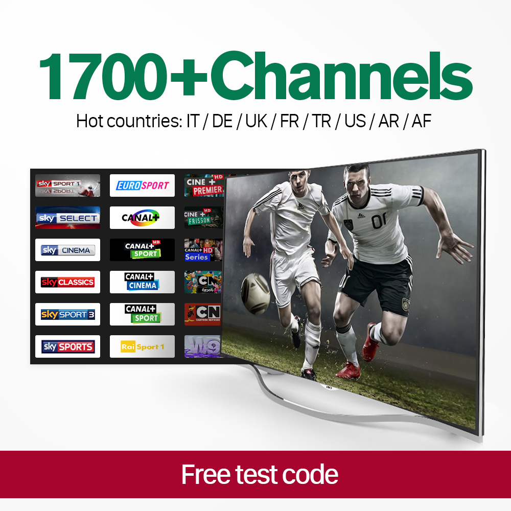 IUDTV IPTV Europe Account 1 Year including Arabic French SKY Italy UK Germany Spain Sweden Turkey EX YU 1700 HD Channels