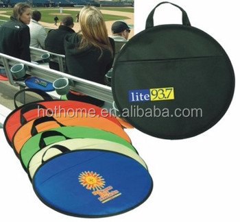Ningbo Factory Supplier Wholesale 190T Round Stadium Seat Cushion