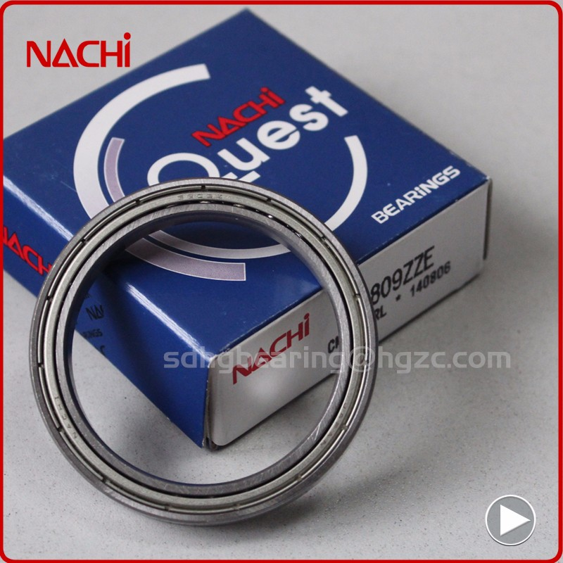 Thin section high precision Nachi deep groove ball bearing 6948ZZ
