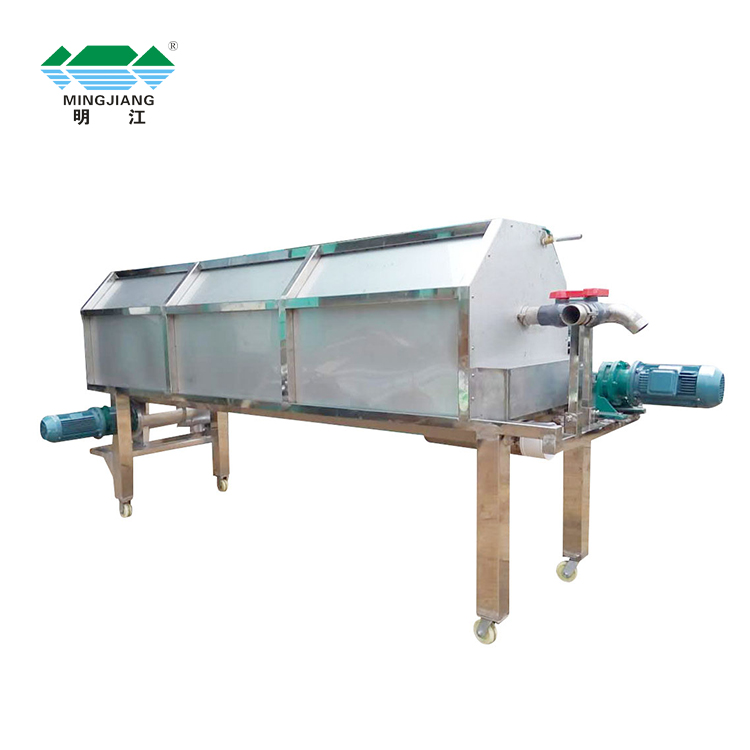 Exquisite price animal manure dewater pig dung dehydration drying horizontal feces dewatering machine solid liquid separator