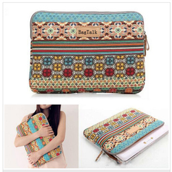 LT0070 Classic Canvas 12 Inch Laptop Sleeve Case