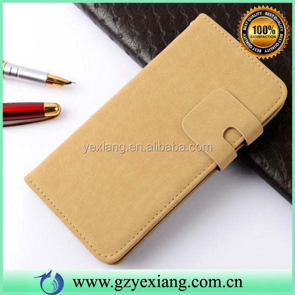 Book Style PU Flip Wallet Leather Case For Lenovo Phab Plus Back Cover