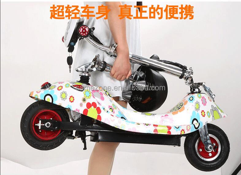 2 Wheel <strong>electric</strong> scooter motor with LED and 300w motor citycoco foldable mini small hoverboard