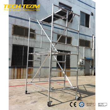 Steel Scaffold Or Used Aluminum Scaffold From China TECHTRUSS