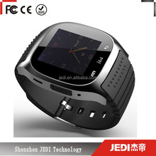 New smart watch android with gps LED connect to all BT phone and tablet