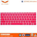 Anti-dust Silicone keyboard film cover protector Waterproof Dustproof silicone keyboard cover for Apple Macbook