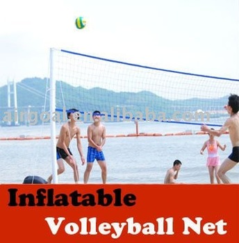 INFLATABLE & PORTABLE volleyball net
