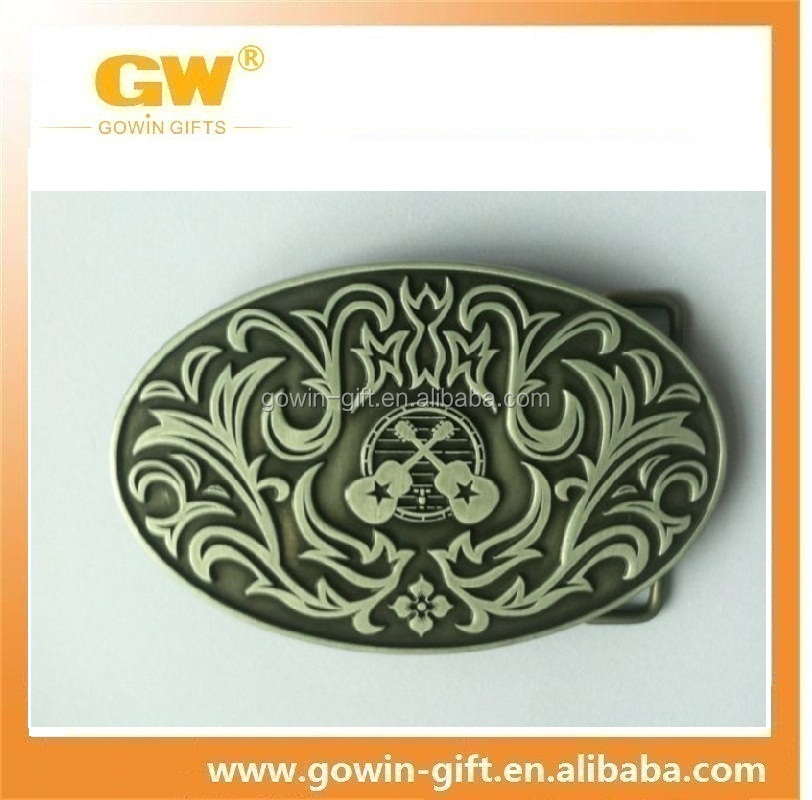 Custom guitar promotional alloy metal belt buckle