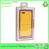 Cheap Universal Personalized Trendy plastic packaging box for cell phone case