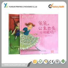 Paper Printing Case Bound Moral Story Book Made In China