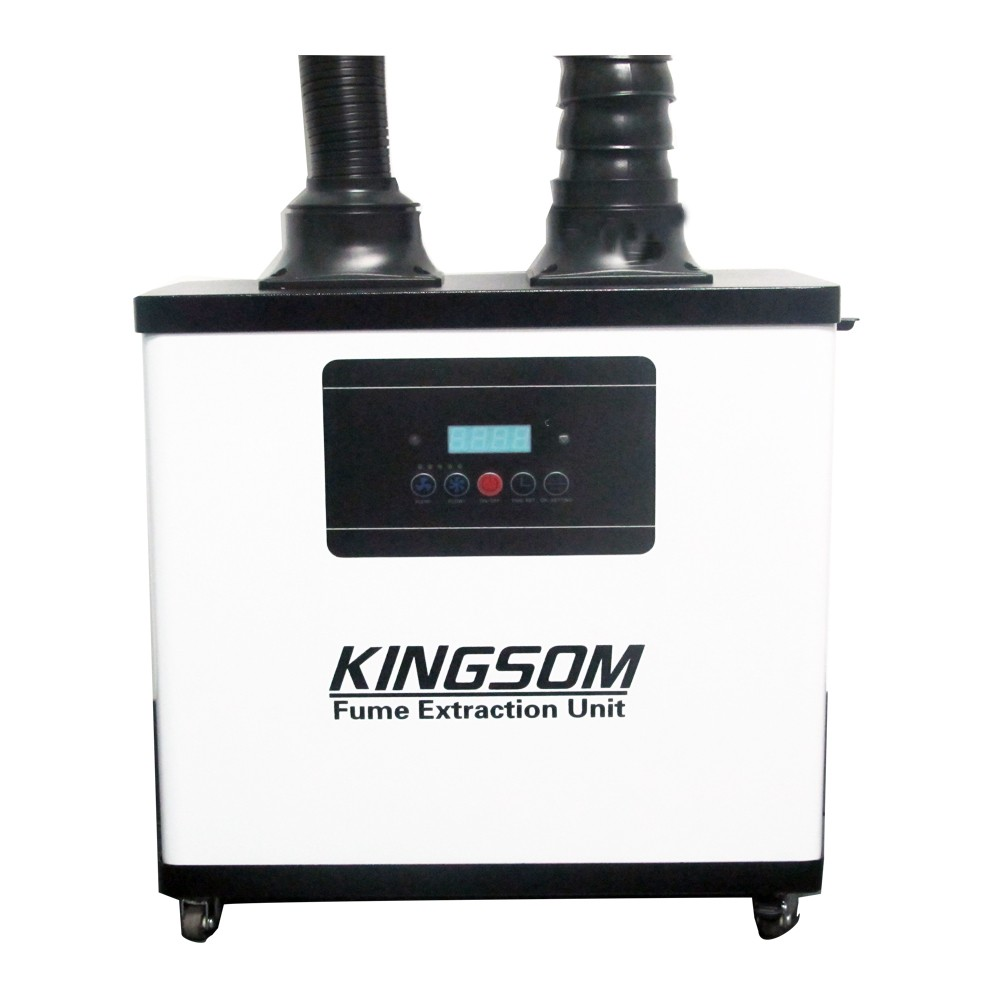 Hot Sale Kingsom Portable Nail Beauty Hair Salon Fume Extractor