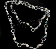 freshwater pearl dog pet necklace