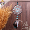 DLX 00004 Handmade Feather Dream Catcher