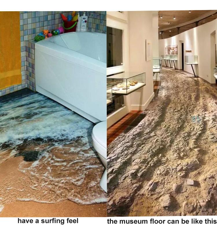 foshan guci bathroom seaworld picture porcelain 3d floor tile ceramic 3d flooring wall tile