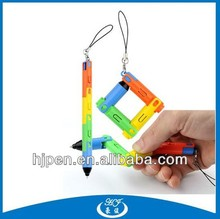From China Best Selling Plastic Promotional Pen,Funny Pens for Promotion,Foldable Pen