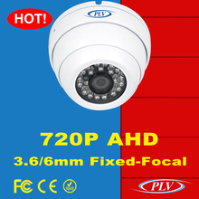 720P weatherproof dome ahd cctv camera day&night surveillance rotating outdoor security infrared day night camera