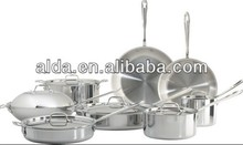 Colorful Best price ss cookware