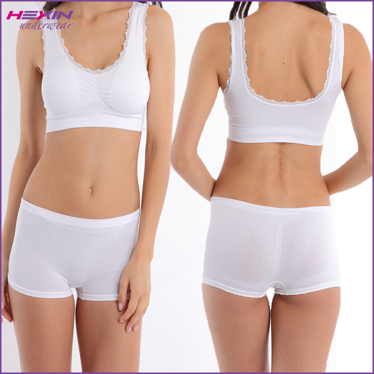 Designer Fashionable Sports Bra Teenage Girl Bra And Underwear