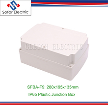 280x195x135mm IP65 Weatherproof Plastic Junction Box
