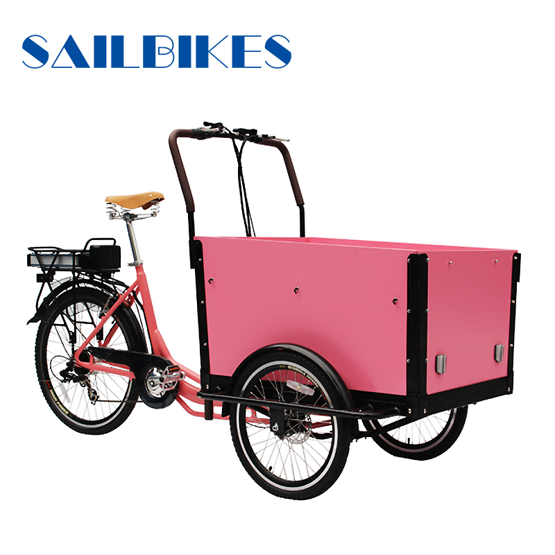 Aluminium alloy frame cargo tricycle bicycle