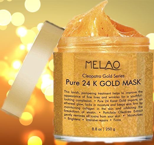 OEM Private brand pure 24k gold collagen face mask wholesale price