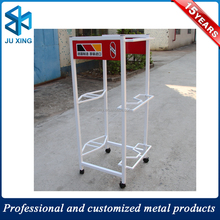 metal car display stand doll and toy metal display, display stand