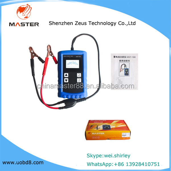 factory hot sales Auto battery tester/Car battery tester MICRO Analyzer 12V Micro Digital Battery Analyzer