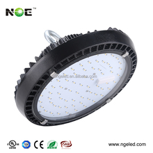 Indoor factory warehouse 200w led high bay light fitting round shape led high bay light