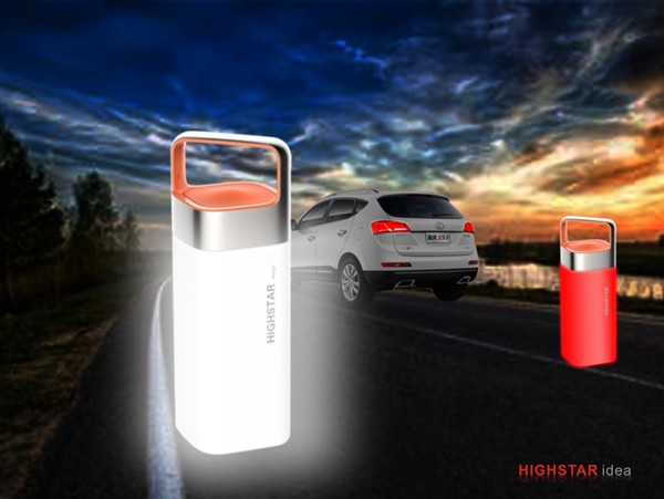 2017 Hot seller asod factory portable camping led lamp with 4400mah power bank