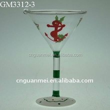wholesale Colorful hanging glass ornament for Christmas tree