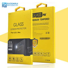 0.26mm 2.5D 9H Tempered Glass Screen protector For LG L fino G2 Lite D295 Films