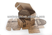 china manufacturer U color make your folding corrugated paper box