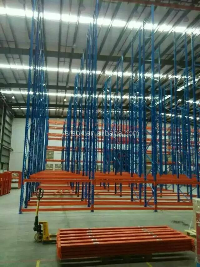 Storage Heavy Duty Shelving,Upright Support Warehouse Stacking Pallet Rack