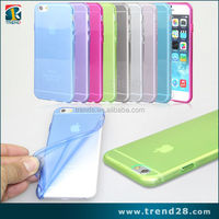 Wholesale alibaba transparent clear silicone case for iphone 6