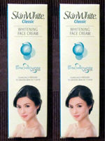 2 SkinWhite Classic WHITENING Face Cream Proven to Whiten Skin